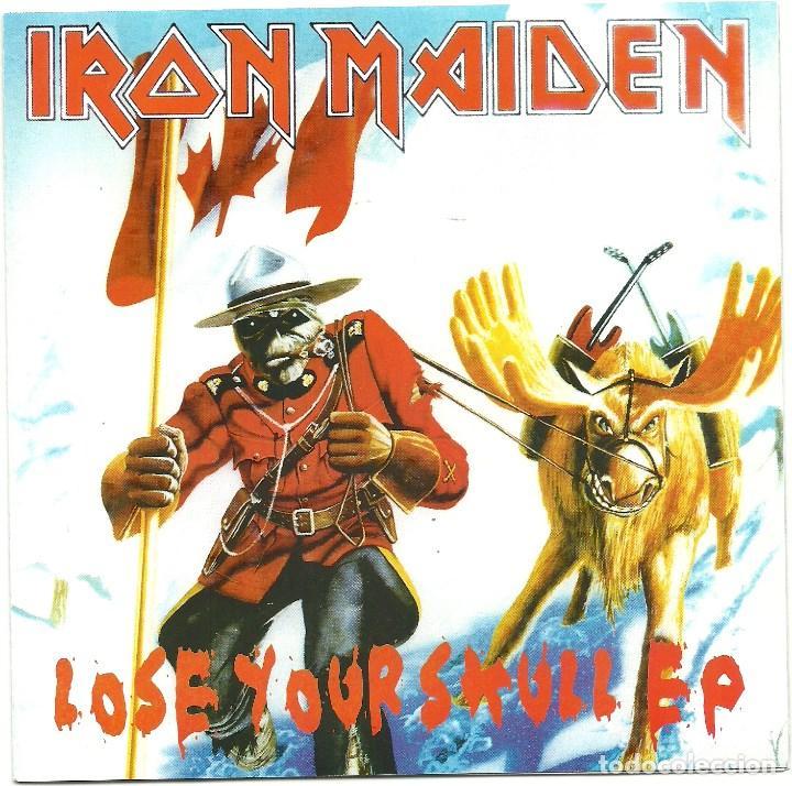 IRON MAIDEN. LOSE YOUR KULL EP (VINILO SINGLE 2005) (Música - Discos - Singles Vinilo - Heavy - Metal)