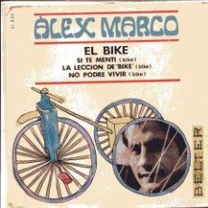 Discos de vinilo: ALEX MARCO / THE BIKE + 3 (EP 1967). Lote 100988775