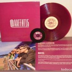 Dischi in vinile: @AAFF#715 (LP MORADO 200GR + LIBRO + CD) AEROLÍNEAS FEDERALES. Lote 179255937