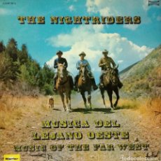 Discos de vinilo: THE NIGHTRIDERS - MUSICA DEL LEJANO OESTE LP DOBLE 1973 SPAIN . Lote 100996407