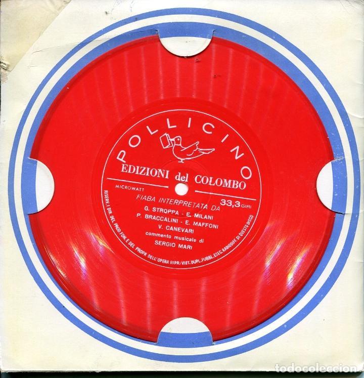 Discos de vinilo: PACK DE SEIS FLEXIDISC CON CUENTOS EN ITALIANOS (VER DISCOS) - Foto 2 - 100997307