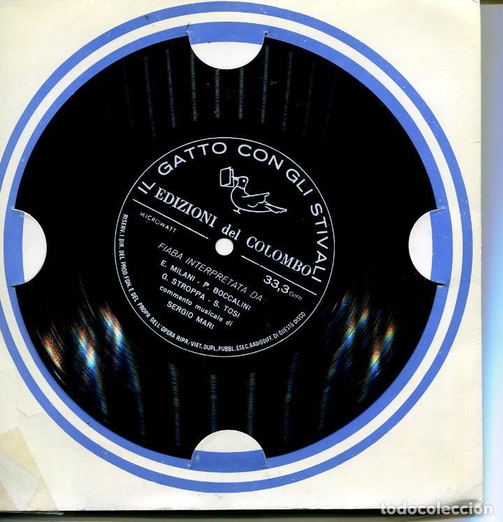 Discos de vinilo: PACK DE SEIS FLEXIDISC CON CUENTOS EN ITALIANOS (VER DISCOS) - Foto 5 - 100997307