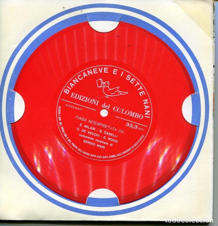 Discos de vinilo: PACK DE SEIS FLEXIDISC CON CUENTOS EN ITALIANOS (VER DISCOS) - Foto 6 - 100997307