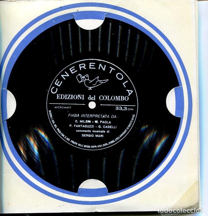Discos de vinilo: PACK DE SEIS FLEXIDISC CON CUENTOS EN ITALIANOS (VER DISCOS) - Foto 7 - 100997307