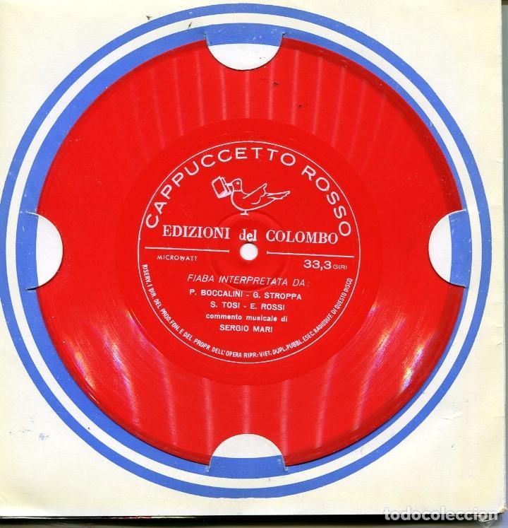 Discos de vinilo: PACK DE SEIS FLEXIDISC CON CUENTOS EN ITALIANOS (VER DISCOS) - Foto 8 - 100997307