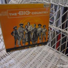 Discos de vinilo: JEROME MOROS ‎– THE BIG COUNTRY.LP ORIGINAL USA 1958.SOUNDTRACK . Lote 100997831