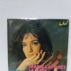 Discos de vinilo: EP ** MARIE LAFORET ** LA PLAYA ** COVER / EXCELLENT (EX) ** EP / EXCELLENT (EX ) 1965. Lote 100998859
