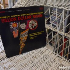 Discos de vinilo: RICHARD RODNEY BENNETT ?– BILLION DOLLAR BRAIN.LP ORIGINAL USA 1967.BIG BAND/COOL JAZZ. Lote 101000563