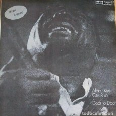 Discos de vinilo: ALBERT KING & OTIS RUSH : DOOR TO DOOR. (LP. CFE, COL. BLUESMEN, 1982) PRECINTADO. Lote 101000571