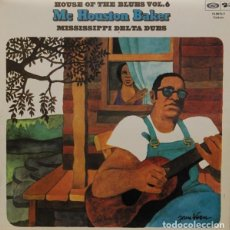 Discos de vinilo: MC HOUSTON BAKER : MISSISSIPPI DELTA BLUES. (HOUSE OF THE BLUES VOL. 6. BARCLAY / MOVIEPLAY, 1975). Lote 101001275