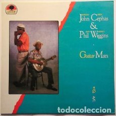 Discos de vinilo: JOHN CEPHAS & PHIL WIGGINS : GUITAR MAN. (FLYING FISH RDS. / PDI, 1990). Lote 101001639