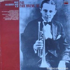Discos de vinilo: BIX BEIDERBECKE : THE GOLDEN AGE OF BIX BEIDERBECKE. (EMI RDS., MUSIC FOR PLEASURE (UK), 1988). Lote 101001791