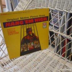 Discos de vinilo: DOMINIC FRONTIERE– HANG 'EM HIGH.LP ORIGINAL USA 1968. Lote 101002143