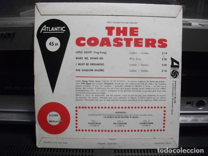 Discos de vinilo: THE COASTERS LITTLE EGYPT VER ORIGINALE CLEOPATRE EP FRANCE ATLANTIC - Foto 2 - 101002999