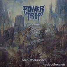 Discos de vinilo: LP POWER TRIP NIGHTMARE LOGIC VINILO TRASH METAL. Lote 101003571