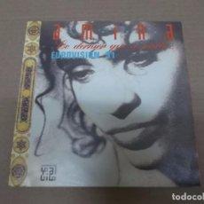 Discos de vinilo: AMINA (SN) LE DERNIER QUI A PARLE AÑO 1991. Lote 101004295