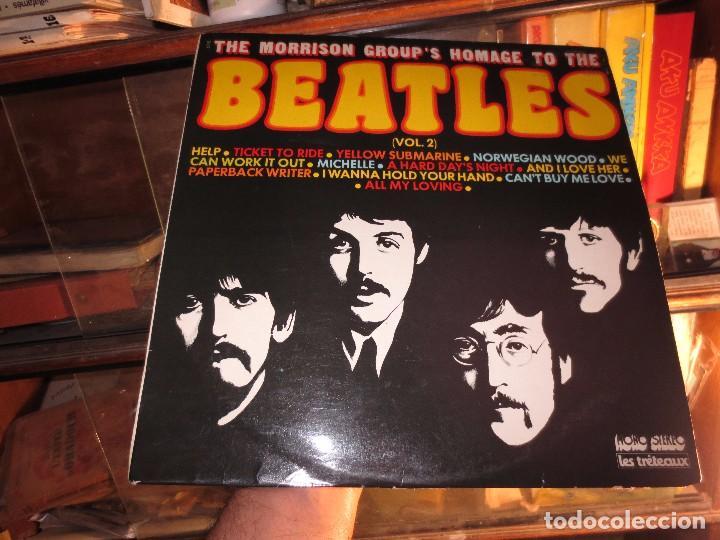 LP RARO DISCO ANTIGUO THE MORRISON GROUPS HOMAGE TO THE BEATLES IMPECABLE (Música - Discos de Vinilo - EPs - Rock & Roll)