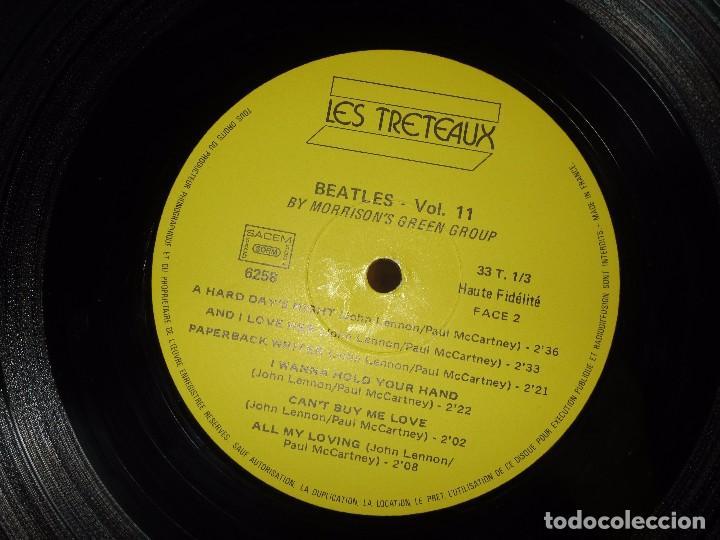 Discos de vinilo: LP RARO DISCO ANTIGUO THE MORRISON GROUPS HOMAGE TO THE BEATLES IMPECABLE - Foto 5 - 101005599