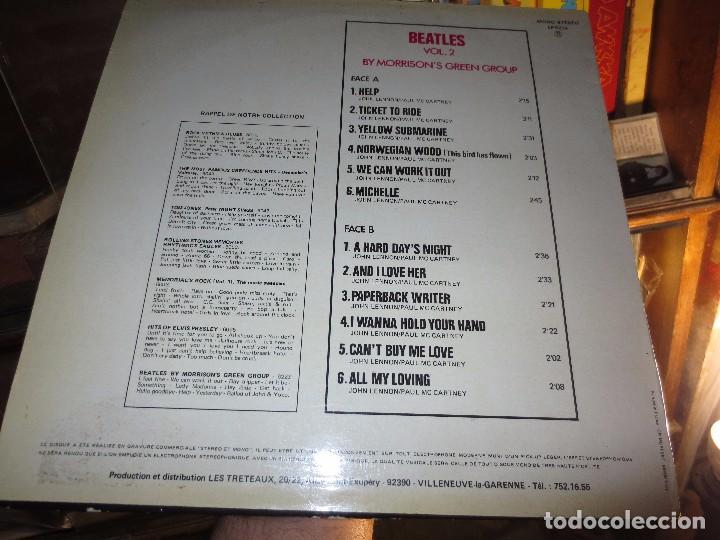 Discos de vinilo: LP RARO DISCO ANTIGUO THE MORRISON GROUPS HOMAGE TO THE BEATLES IMPECABLE - Foto 7 - 101005599