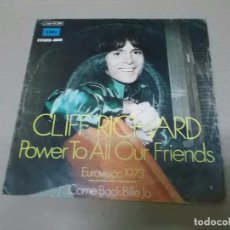 Discos de vinilo: CLIFF RICHARD (SN) POWER TO ALL OUR FRIENDS AÑO 1973. Lote 101005667