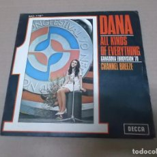 Discos de vinilo: DANA (SN) ALL KINDS OF EVERYTHING AÑO 1970. Lote 101005935