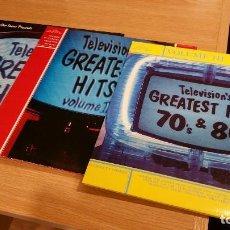 Discos de vinilo: COLECCIÓN TELEVISION'S GREATEST HITS. 3 VOLÚMENES DOBLES.. Lote 101005939