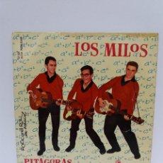Discos de vinilo: EP ** LOS MILOS ** PITAGORAS ** COVER / VERY GOOD+ (VG+) ** EP / VERY GOOD (VG) 1961. Lote 101006047