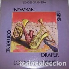 Discos de vinilo: JOE NEWMAN WITH ZOOT SIMS / JOHN COLTRANE WITH RAY DRAPPER : LOCKING HORNS. 2 X LPS. ROULETTE, 1978	. Lote 101007203