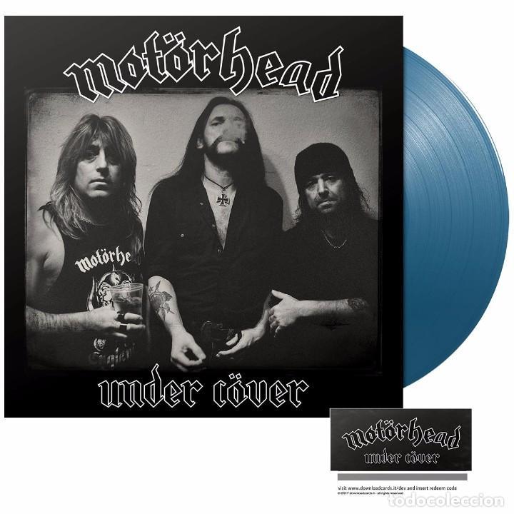 MOTÖRHEAD UNDER CÖVER EDICIÓN LTD EXCLUSIVA VINILO AZUL LP 500 COPIAS NUEVO Y PRECINTADO (Música - Discos - LP Vinilo - Heavy - Metal)