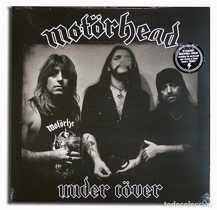 Discos de vinilo: MOTÖRHEAD UNDER CÖVER Edición Ltd Exclusiva Vinilo Azul LP 500 copias Nuevo y Precintado - Foto 2 - 101007827