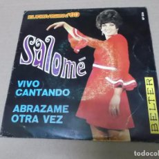 Discos de vinilo: SALOME (SN) VIVO CANTANDO AÑO 1969. Lote 101008603