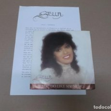 Dischi in vinile: STELLA (SN) IF YOU DO LIKE MY MUSIC AÑO 1982 – HOJA PROMOCIONAL. Lote 101009107