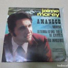 Discos de vinilo: JAIME MOREY (EP) AMANECE AÑO 1972 – EDICION CIRCULO DE LECTORES. Lote 101010511