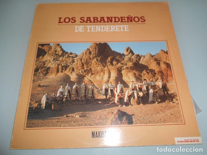 LOS SABANDEÑOS DE TENDERETE MAXI SINGLE 1983 (Música - Discos de Vinilo - Maxi Singles - Country y Folk)