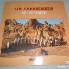 Discos de vinilo: LOS SABANDEÑOS DE TENDERETE MAXI SINGLE 1983. Lote 101011459
