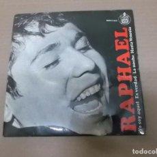 Discos de vinil: RAPHAEL (EP) YO SOY AQUEL AÑO 1966. Lote 101011587