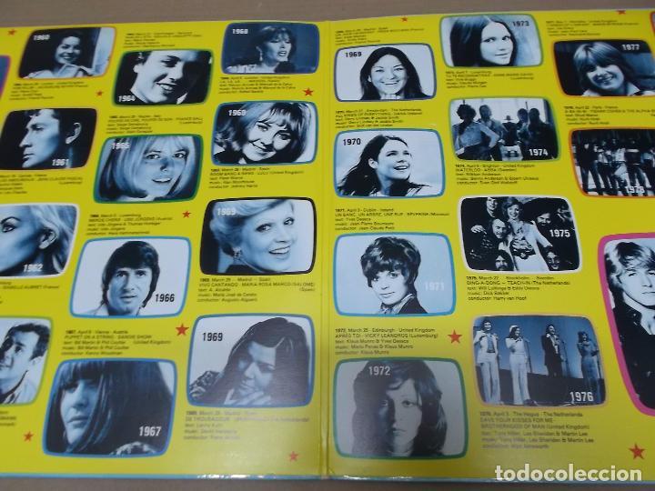 Discos de vinilo: EUROVISION GALA (LP) 25 YEARS EUROVISION SONG CONTEST WINNERS 1956-1981 AÑO 1981 – DOBLE DISCO CON P - Foto 2 - 101012251
