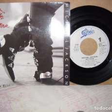 Discos de vinilo: MICHAEL JACKSON 45 DIRTY DIANA + INSTRUMENTAL EPIC HOLANDA 1988. Lote 101012955