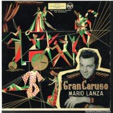 Discos de vinilo: MARIO LANZA - B.S.O. FILM EL GRAN CARUSO - LA DONNA E MOBILE + 3 - EP 1958. Lote 101017803
