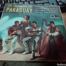 Discos de vinilo: LOS COMUNEROS DEL PARAGUAY. Lote 101019222
