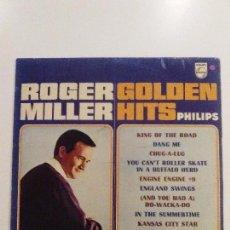 Discos de vinilo: ROGER MILLER GOLDEN HITS ( 1965 PHILIPS UK ). Lote 101028335