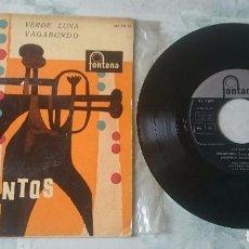 Discos de vinilo: LOS SANTOS: PREGONERA + 3 (FONTANA 1960). Lote 101034779
