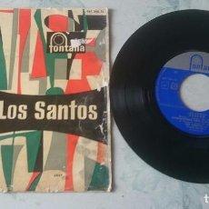 Discos de vinilo: LOS SANTOS: OCÉANO + 3 (FONTANA 1961). Lote 101035155