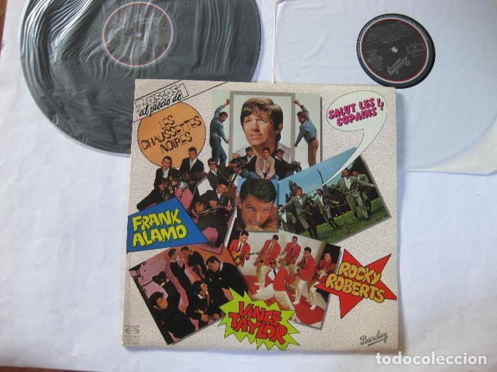 SALUT LES COMPAINS - DOBLE LP - NUEVO A ESTRENAR - ROCKY ROBERTS , VINCE TAYLOR , ETC... (Música - Discos - LP Vinilo - Otros estilos)
