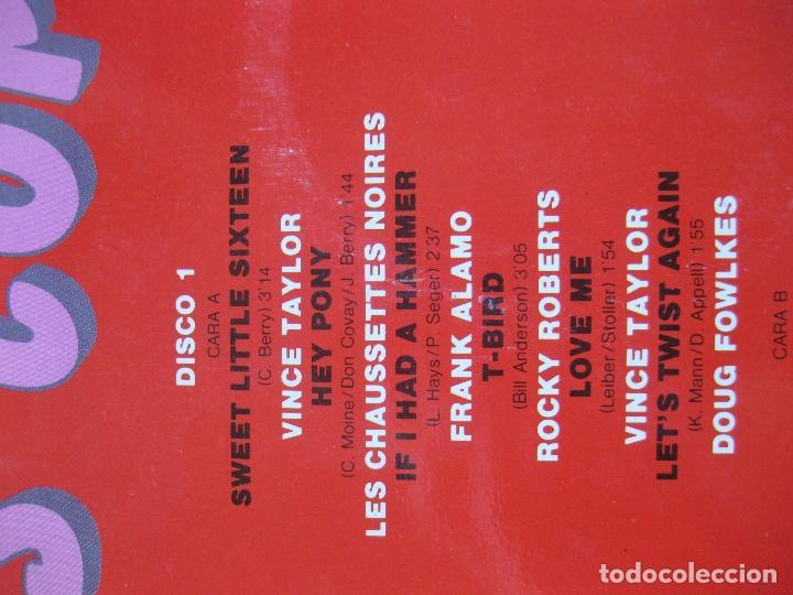 Discos de vinilo: SALUT LES COMPAINS - DOBLE LP - NUEVO A ESTRENAR - ROCKY ROBERTS , VINCE TAYLOR , ETC... - Foto 2 - 195330441