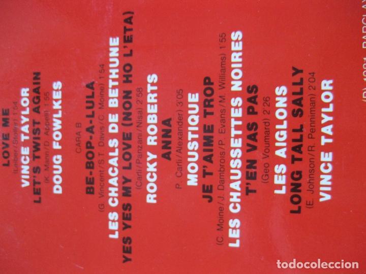 Discos de vinilo: SALUT LES COMPAINS - DOBLE LP - NUEVO A ESTRENAR - ROCKY ROBERTS , VINCE TAYLOR , ETC... - Foto 3 - 195330441
