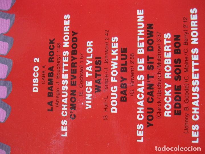Discos de vinilo: SALUT LES COMPAINS - DOBLE LP - NUEVO A ESTRENAR - ROCKY ROBERTS , VINCE TAYLOR , ETC... - Foto 4 - 195330441