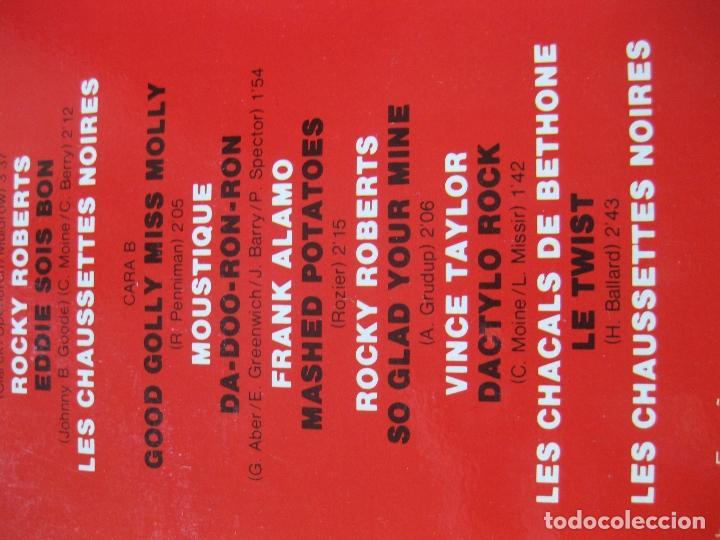 Discos de vinilo: SALUT LES COMPAINS - DOBLE LP - NUEVO A ESTRENAR - ROCKY ROBERTS , VINCE TAYLOR , ETC... - Foto 5 - 195330441