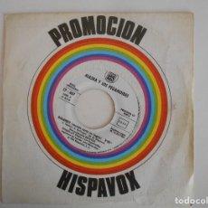 Discos de vinilo: ALASKA Y LOS PEGAMOIDES-SINGLE BAILANDO EN ESPAÑOL E INGLÉS-PROMO. Lote 101049871