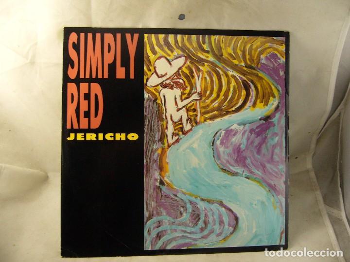 SINGLE SIMPLY RED (JERICHO) WEA-1986 (Música - Discos de Vinilo - Singles - Pop - Rock Extranjero de los 80)